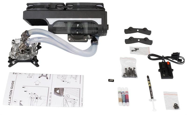 Swiftech H220 X2 water cooling kit  (All-In-One kits) Prestige