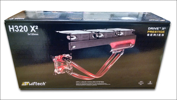 Swiftech H320 X2 water cooling kit (All-in-One Kits) Prestige