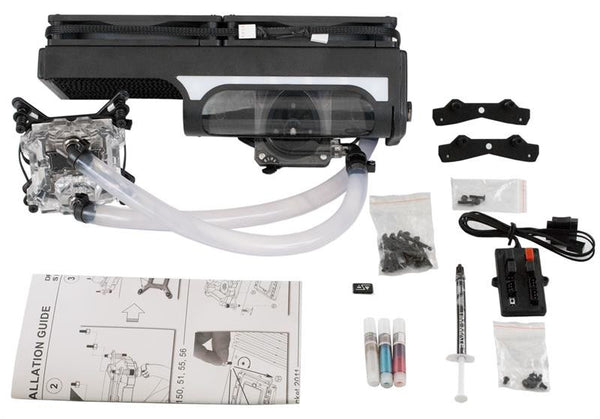 Swiftech H240 X2 Dual 140mm water cooling kit (All-In-One kits) Standard