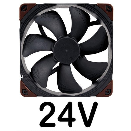 Noctua 140x140x25mm NF-A14 Industrial PPC-24V-3000 IP67  PWM  Fan NFA14IPPC24V30PIP67 - Coolerguys