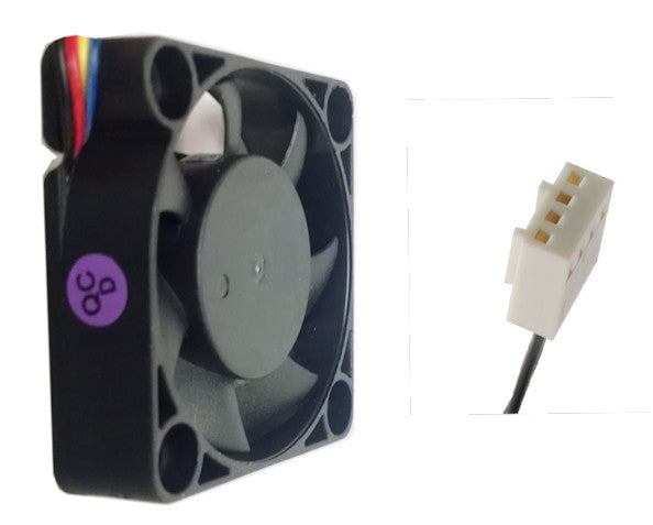 Evercool 40x10mm 12V Dual Ball  PWM Fan #EC4010TH12BP