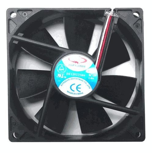 Dynatron Top Motor 92x92x25mm 12 Volt Medium Speed Fan DF129225BM - Coolerguys