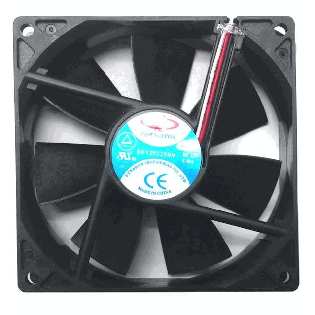 Dynatron, Top Motor 92x25mm 12V Medium speed fan with 3 pin connector #DF129225BM