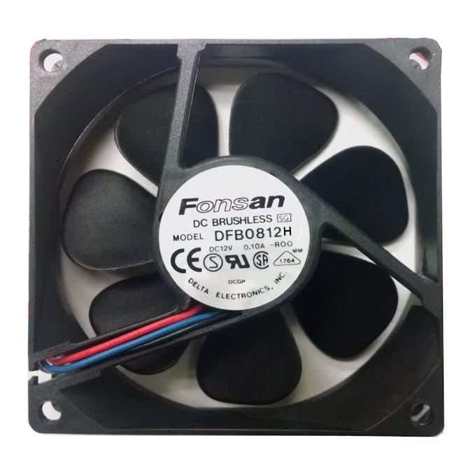 Fonsan Delta 80X25mm High Speed 12V DC Fan Model DFB0812H - Coolerguys