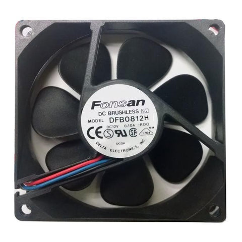 Fonsan Delta 80X25mm HighSpeed 12V DC Fan Model DFB0812H