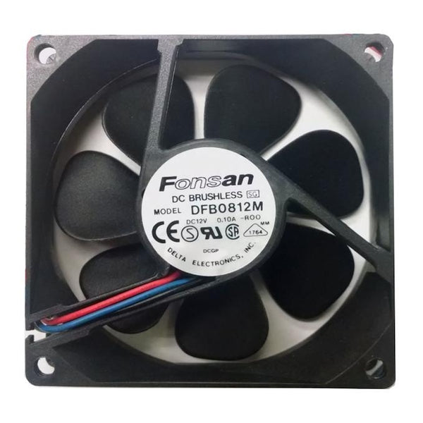 Fonsan Delta 80X25mm Medium Speed 12V DC Fan Model DFB0812M