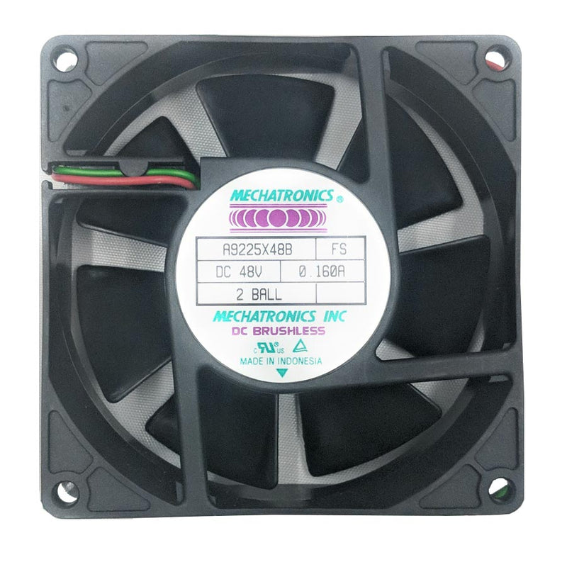Mechatronics 92x25mm Dual Bearing 48V Fan A9225X48B‐FS - Coolerguys