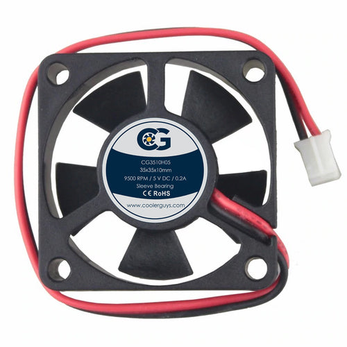 Coolerguys 35x35x10mm 5V Small Fan - Coolerguys