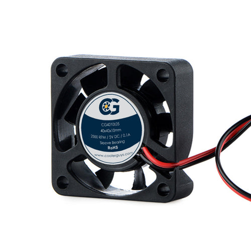 Coolerguys 40mm (40x40x10) Quiet 5V DC Small Fan