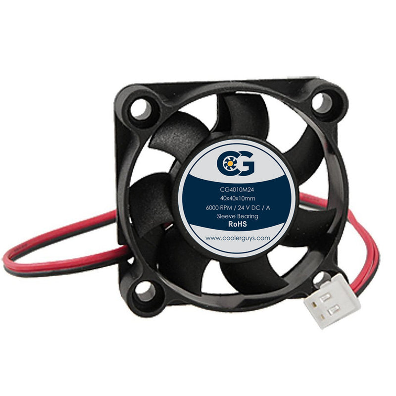 Coolerguys 40x40x10mm 24V Small Fan - Coolerguys
