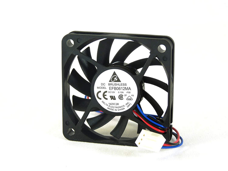 Delta 60x60x10mm EFB0612MA-F00 Cooling Fan