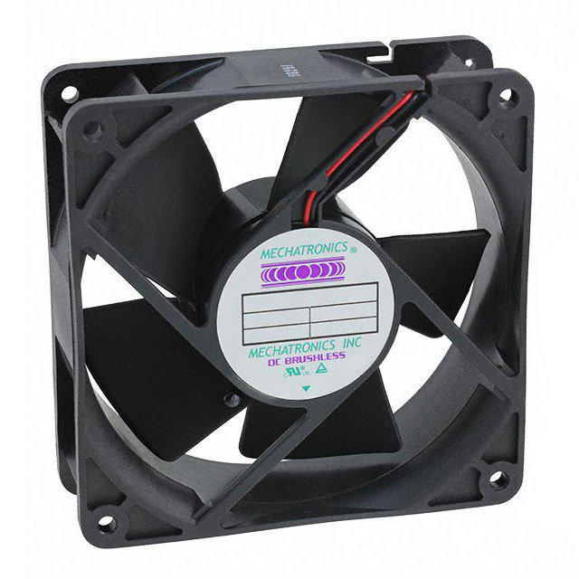 Mechatronics F1238E12BT‐FH High Airflow 119X38MM 12VDC Fan with Locked Rotor - Coolerguys
