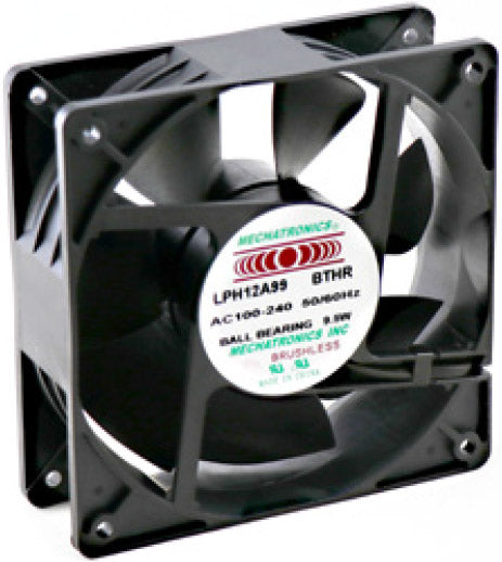 Mechatronics 120mm EC Fan (120x120x38) LPH12A99-BTHR - Coolerguys