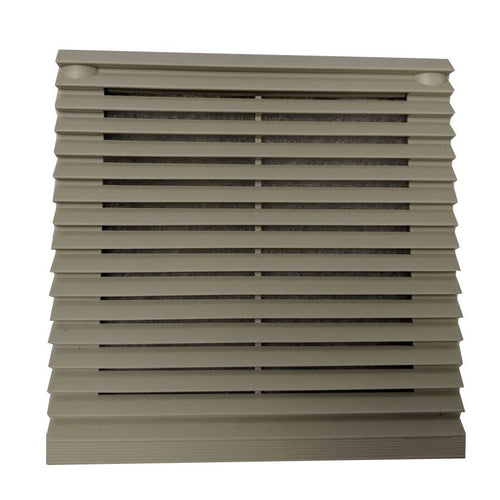 Coolerguys 6 or 4 Inch Filter Grill with Louvers - Coolerguys
