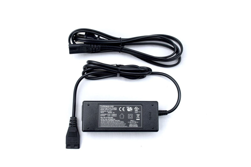 Coolerguys 100-240V AC to 12V & 5V DC Power Supply with 4pin Molex (2A  / 2000mA) - Coolerguys