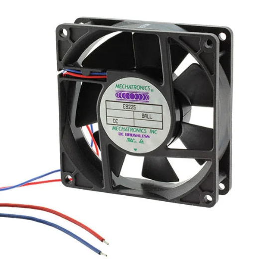 Mechatronics 92x92x25mm 24 Volt Fan Low Speed E9225S24B-FRS-ND
