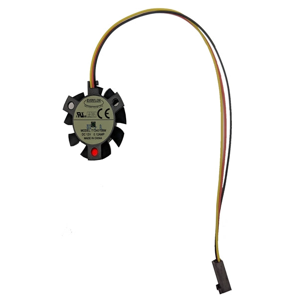 Everflow Frameless 40x10mm 12 volt DC Fan 3 wire/3 pin