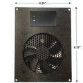CG Cabcool 1201 Deluxe Single 120mm Fan USB Pre-set Thermostat Cooling Unit - Coolerguys