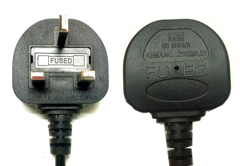 Ac Power Cord For 230 Volt Fans With Uk Plug  U2013 Coolerguys