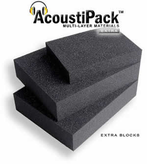 AcoustiPack™ EXTRA - Foam Blocks (APExtB) - Coolerguys
