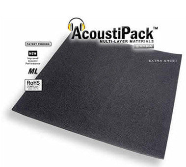 AcoustiPack EXTRA - Sheet PC Soundproofing Material Item #APEXTS - Coolerguys