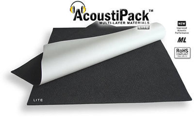 AcoustiPack LITE PC Soundproofing Materials Kit Item #APAPL - Coolerguys
