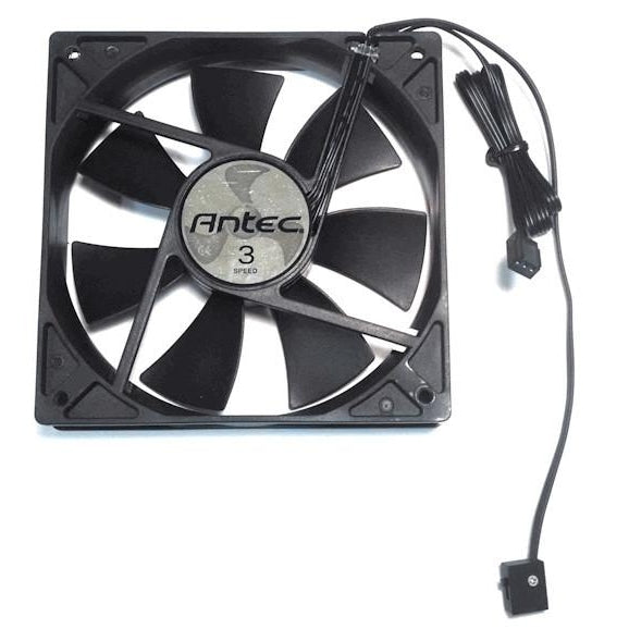 Antec Tri Cool 120x120x25mm Standard Case Fan with 3 Speed Switch - Coolerguys