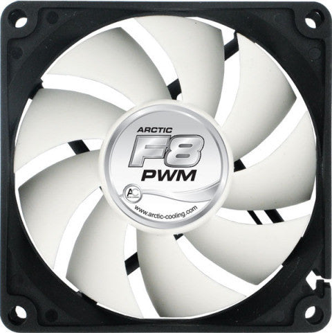 Arctic Cooling ARCTIC F8 80mm PWM fan - Coolerguys