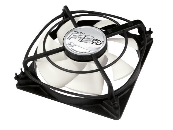 Arctic Cooling F12 120x120x38mm Pro TC Temperature Controlled  Fan - Coolerguys