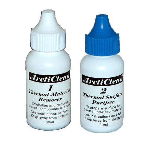 ArctiClean kit /60ml Kit includes 30ml ArctiClean 1 and 30ml ArctiClean 2  # ACN-60ML - Coolerguys