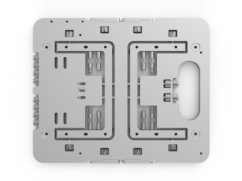 Streacom BC1 Mini Open Benchtable Silver - Coolerguys
