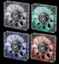 BitFenix Spectre Pro 120x120x25mm 12 Volt LED Series Fan BFF-LPRO-12025 - Coolerguys