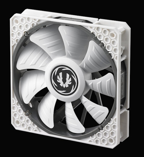 BitFenix Spectre Pro All White 120mm 12V Fan - BFF-SPRO-12025WW-RP - Coolerguys