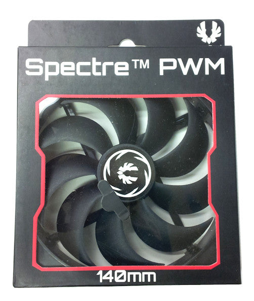 BitFenix Spectre PWM All Black 140mm Fan BFF-SCF-P14025KK-RP