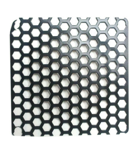 Black Mesh 80mm Honeycomb Grill with Excellent Flow Through - Coolerguys
