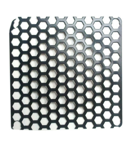 Black Mesh 80mm Honeycomb grill with excellent flow through