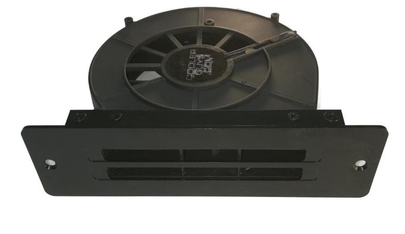 Coolerguys AC or 12v Powered Blower Fan with Exhaust Vent Bracket