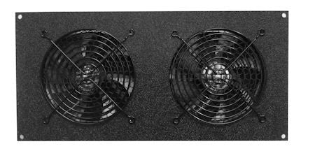 CabCool 1202 Lite 5 volt  Dual 120mm Fan Cooler Kit for Cabinet / Home Theater - Coolerguys