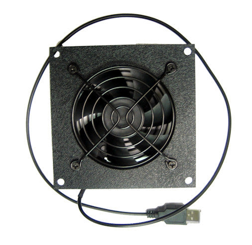 Cabcool 801U Single 80mm USB Powered Cabinet Cooling Kit - Coolerguys