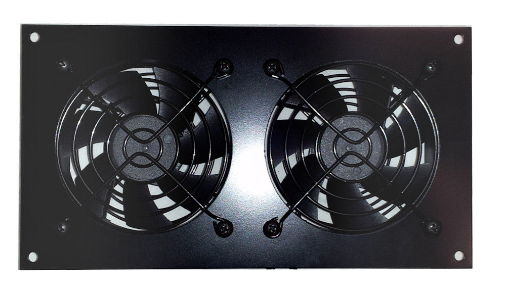 Superbe CabCool 802 Lite Dual 80mm Fan Cooling Kit For Cabinet U0026 Home Theaters U2013  Coolerguys