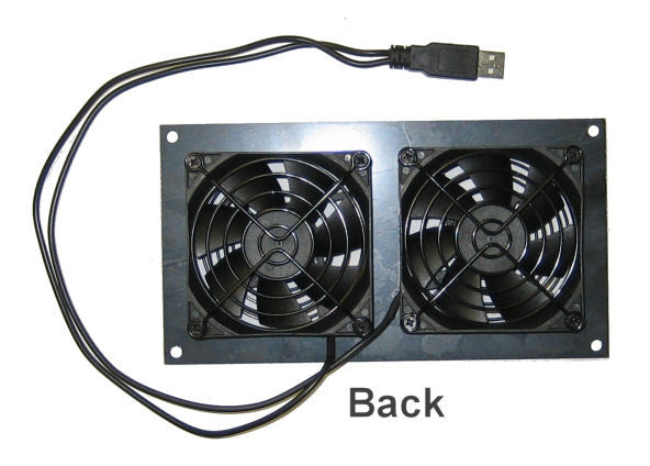 ... Cabcool 802U Dual 80mm USB Powered Cabinet Cooling Kit ...
