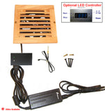 CabCool1201 Single 120mm Fan Cooler Kit with Custom Wood Grill/Thermal Controller