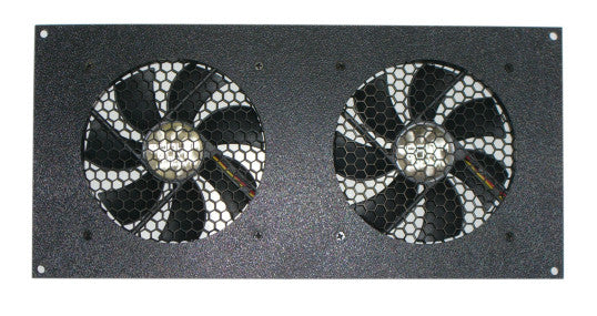 CG CabCool1202 Dual 120mm Fan 12V Cooler Kit Cabinet / Home Theaters  W/Thermal Control