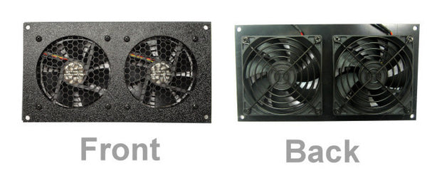 CG CabCool902 Dual 92mm Fan Cooling kit for Cabinet - Home Theaters