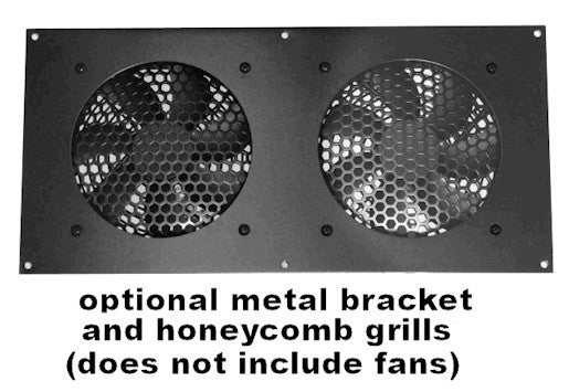 CG Fan Bracket  (2 hole/ Bare Kit ) 80mm kit for Cabinet Cooling
