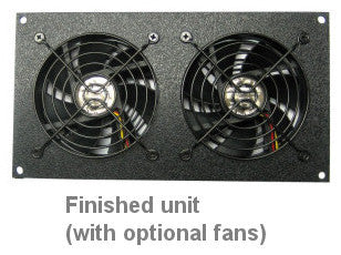 Attirant CG Bare Fan Bracket Kit For 92mm (2 Hole) Multimedia Cabinet Cooling / U2013  Coolerguys
