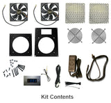 Combo Pack Cabinet Kit (dual 120mm) ..Special Build. #840556091639