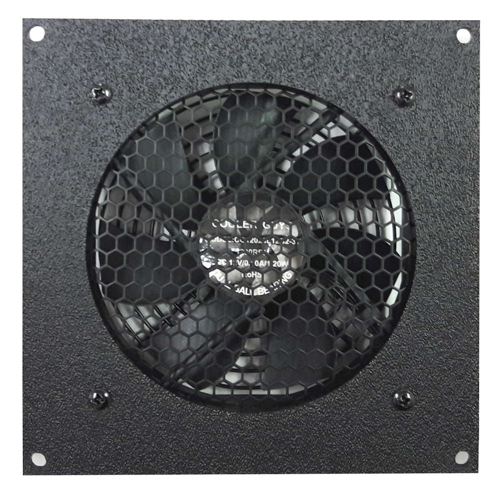 Coolerguys Single 120mm Fan Cooling Kit With Thermal