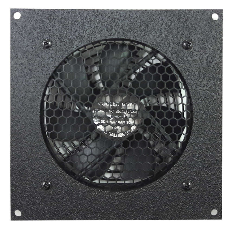 Coolerguys Single 120mm Fan Cooling Kit with Thermal Controller - Coolerguys