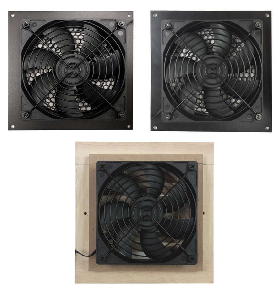 Coolerguys Single 120mm Fan Cooling Kit with Programmable Thermal Controller